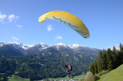 Paragliden in Sillian