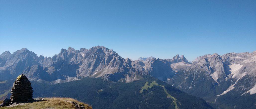 Pustertal Gipfelblick