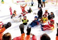 Schneekristalle und Weihnachtssterne in Tux-Finkenberg