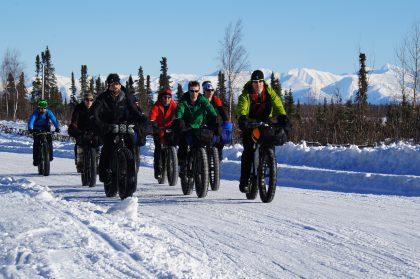 Alaska Fatbiken rund um Anchorage