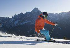Skifahren in der Dolomitenregion Drei Zinnen