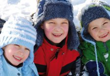 Kinderhotels Europa bieten Langlauf für Kids