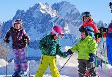 Familienzeit in der Dolomitenregion Drei Zinnen