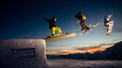 Snowpark Silvretta Montafon