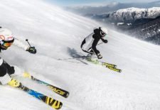 Frühlings-Skifahren im Eggental