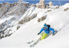 Legendäre Skirunden im Val di Fassa
