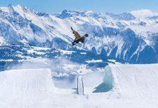 Saisonstart im Schweizer Skigebiet LAAX