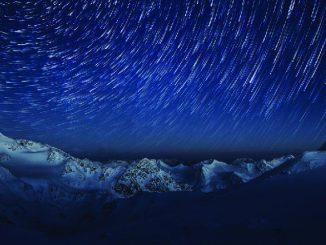 Stubaier Gletscher Andre Schoenherr Nachtpanorama