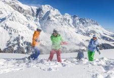 Hochkönig Info: Familienglück im Schnee
