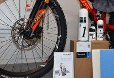 Das Fahrrad fit für den Frühling machen: Staubabweisende Versiegelung mit Nanopartikeln