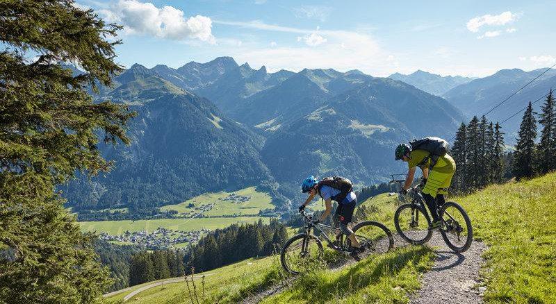 Mountainbiken im Bregenzerwald