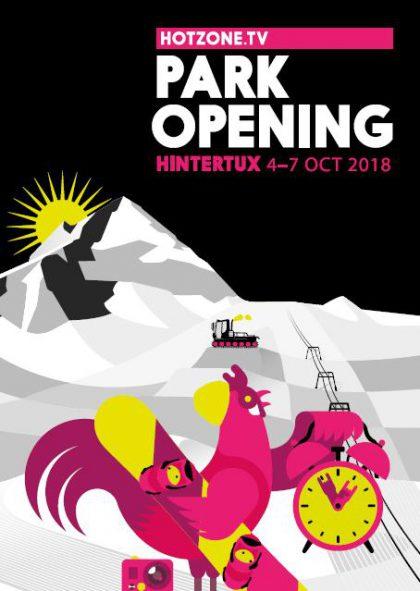 1. Park Opening der Saison im Betterpark Hintertux