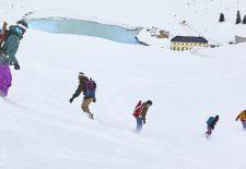 Von Montafon bis Kirgistian – Camps und Testevents mit Splitboards Europe