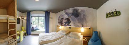 Zimmer der moun10 Jugendherberge