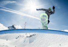 Snowparks und der Superpipe am Kitzsteinhorn