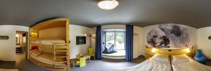 Zimmer der mount10 DJH-Bayern
