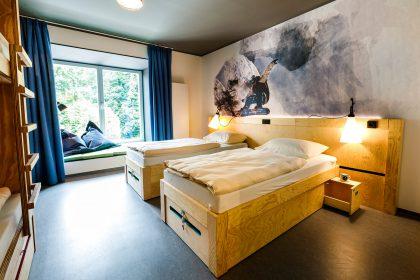 moun10 Jugendherberge - 2er-Zimmer