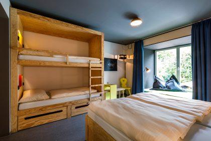 4er-Zimmer in der moun10 Jugendherberge