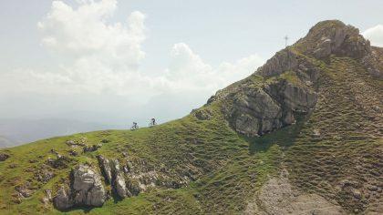 moun10 - Abfahrt über den Grat