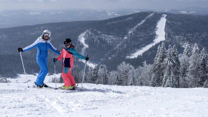 Skifahren im Mühlviertel - Skigebiet Hochficht