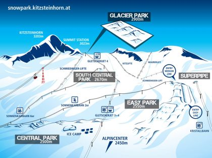 Kitzsteinhorn Superpipe