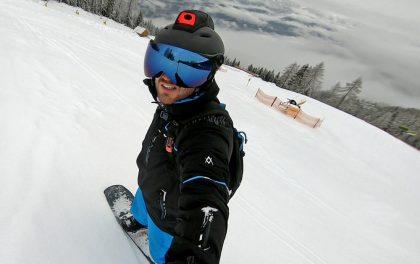 Ski- und Snowboardhelm mit Augmented Reality Schladming-Dachstein