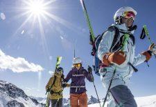 Mit verbundenen Augen zum Traum-Ski