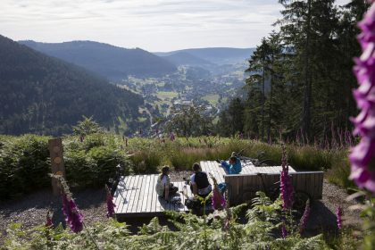Eindrücke beim Trail- und Genusscamp Baiersbronn