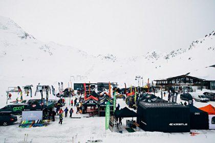 FreerideTestival 2019: Am Kaunertaler Gletsch