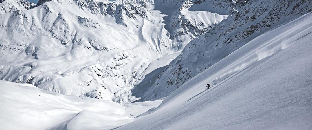 FreerideTestival 2019: Am Kaunertaler Gletsch