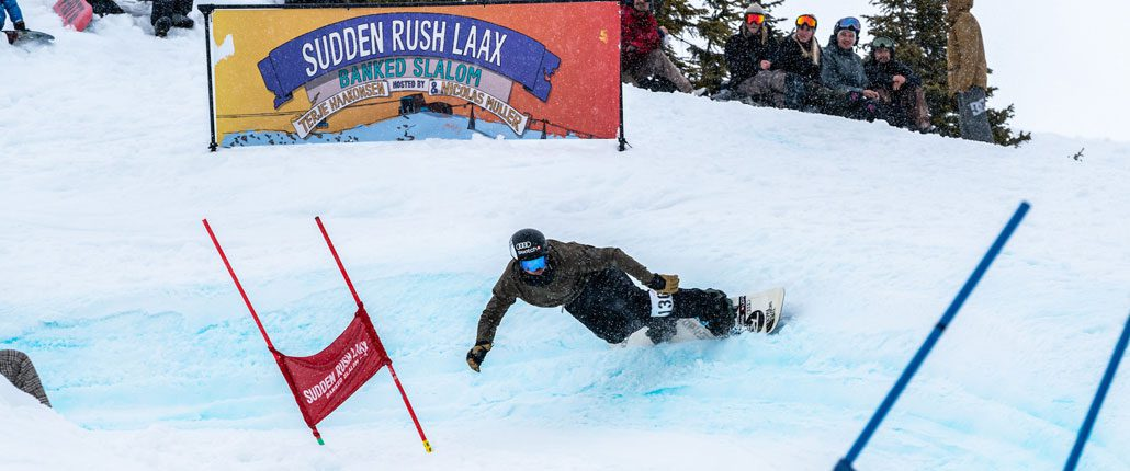 SuddenRush Banked Slalom LAAX 2019