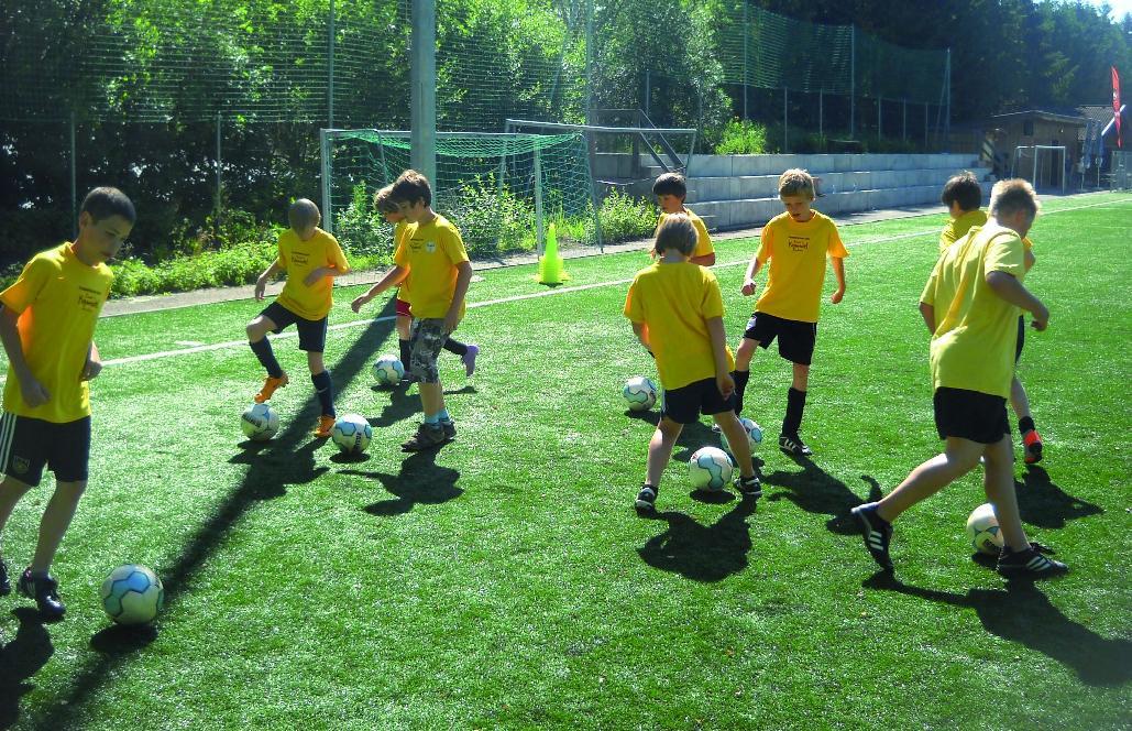 Fussballschule im Hotel Kinderhotel Buchau