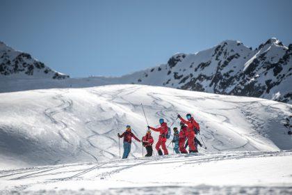 FreerideTestival am Kaunertaler Gletscher
