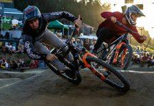 Platz eins für Loron und Hines bei der RockShox Innsbruck Pump Track Challege