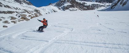 Choice Splitboard Camp Kaunertaler Gletscher