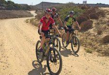 Auf Tour mit einem griechischen Mountainbike-Profi
