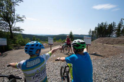 Flow Country Trail im MTB ZONE Bikepark Willingen © David Heise
