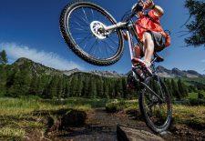 Mountainbiken und Wandern im Fassaner Herbst