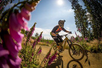 Flow Country Trail im MTB ZONE Bikepark Willingen © Leopold Herman