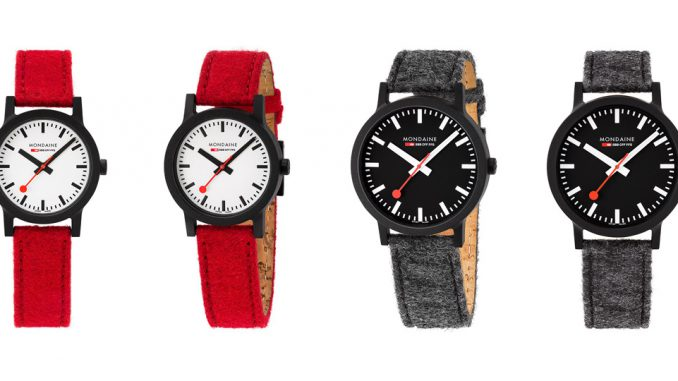 Uhren-Kollektion Mondaine SBB essence