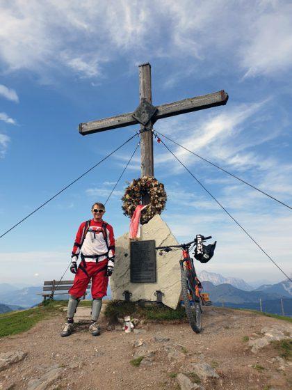 Hacklberg-Trail Start Saalbach Hinterglemm © Roland Schopper