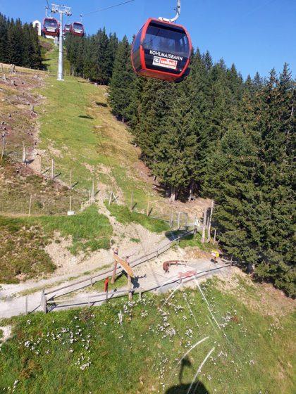 Saalbach Hinterglemm Kohlmaisbahn © Roland Schopper