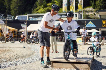 Die Fränk Schleck Bike-Woche in Serfaus-Fiss-Ladis begeistert Groß und Klein