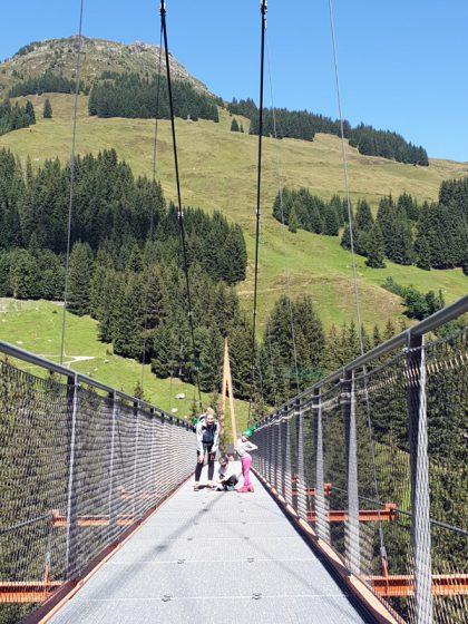 Talschluss Baumzipfelweg Golden Gate Brücke der Alpen Saalbach Hinterglemm © Roland Schopper