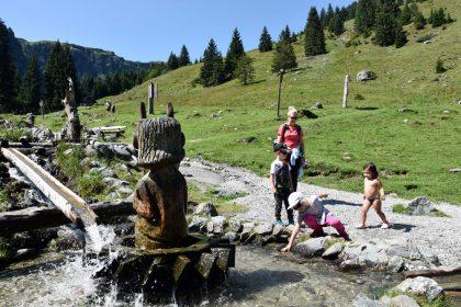 Talschluss Teufelswasser Saalbach Hinterglemm © Roland Schopper