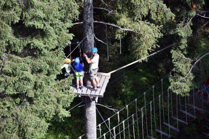 Talschluss Jump Slidepark Hochseilpark Saalbach Hinterglemm © Roland Schopper
