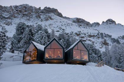 Dine, Wine, Ski – stylische Hütten machen's möglich. @ Obereggen Latemar AG, Mads Mogensen