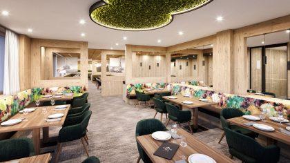 Buffet-Erlebnis und Front Cooking im neuen Restaurant © 3D-Manufaktur / Vomp