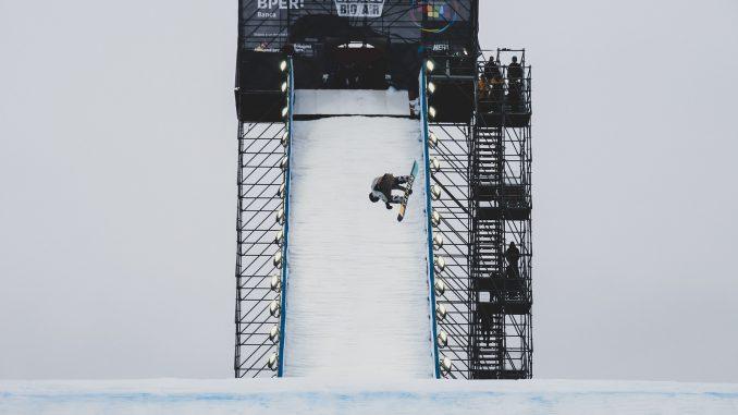 FIS Snowboard big air World Cup event in Modena. © Mateusz Kielpinski (FIS)