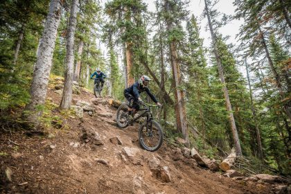 Anspruchsvolle Mountainbike-Trails im Snowmass Bike Park © Tamara Susa